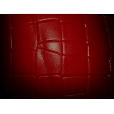 Piele ecologica macan 1025-09 rosu