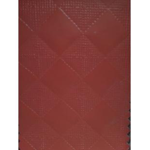 Piele ecologica Dama 1017-09 rosu