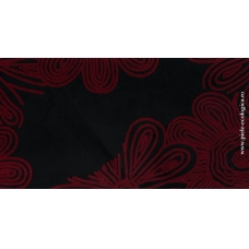 Stofa tapiterie FLORINA N8-1 negru